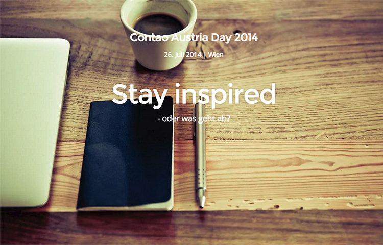 Stay inspired - oder was geht ab?
